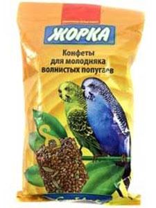 Лакомство для молодых попугаев Конфеты ЖОРКА (2шт)
