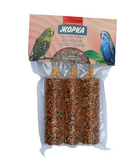 Лакомство для молодых попугаев Медовые батончики ЖОРКА  (3шт)