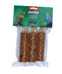 Лакомство для попугаев Медовые батончики ЖОРКА Морская капуста (3 шт)