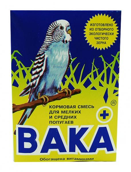 Корм для мелких и средних попугаев ВАКА+ 500г