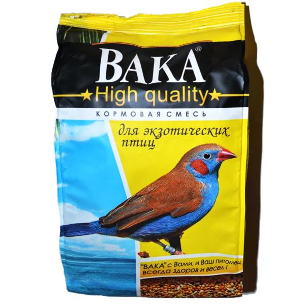 Корм для экзотических птиц ВАКА High Quality 500г