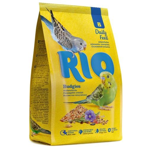 Корм для волнистых попугаев Рио основной рацион