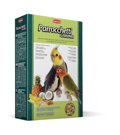 Корм для средних попугаев Падован основной Грандмикс