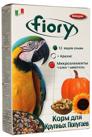 Корм для крупных попугаев ФИОРИ Pappagalli