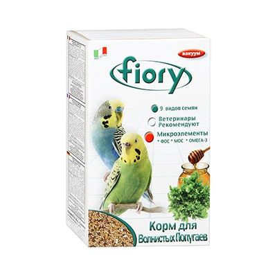 Корм для волнистых попугаев Fiory  (Фиори) мед