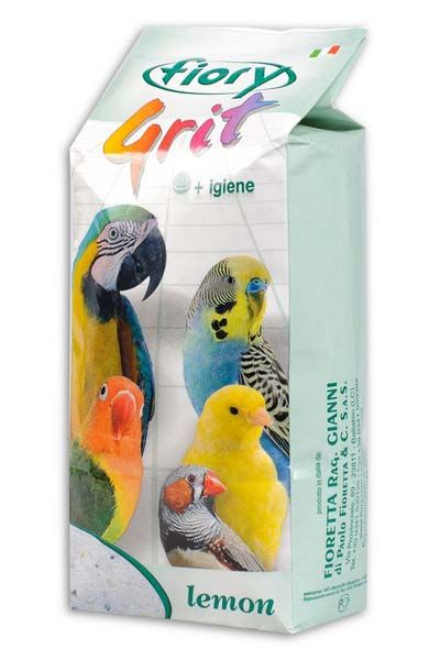 Песок для птиц ФИОРИ Лимон 1кг
