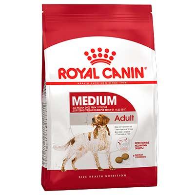 Сухой корм для собак средних пород Роял Канин (Royal Canin) Medium Adult