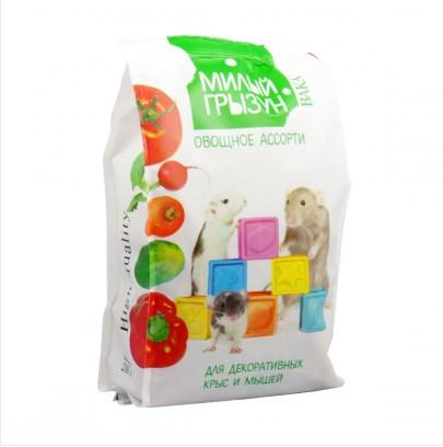 Овощное ассорти для декоративных крыс и мышей ВАКА High Quality Милый грызун