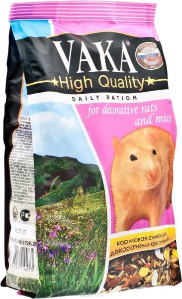 Корм для крыс и мышей ВАКА High Quality 500 г