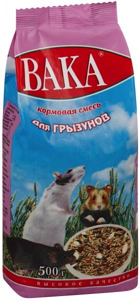 Корм для грызунов ВАКА-ВК 500г
