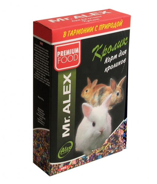 Корм для кроликов МИСТЕР АЛЕКС