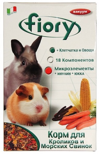 Смесь для морских свинок и кроликов ФИОРИ (Fiory) 850г