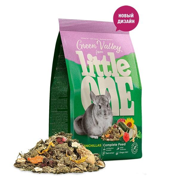 Корм для грызунов LITTLE ONE Зеленая долина из разнотравья 750 гр