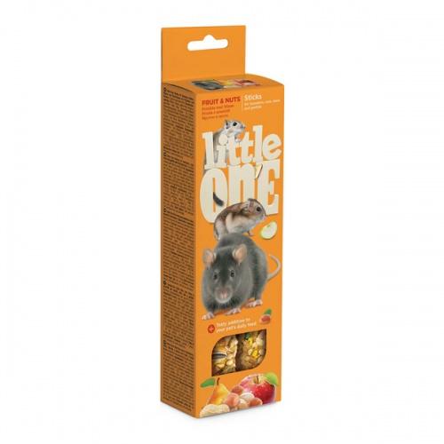 Лакомство для хомяков, крыс, мышей и песчанок Палочки Литл Ван (LITTLE ONE)