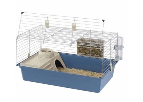 Клетка для кроликов и морских  свинок Ferplast CAVIE 80 NEW цвет 790х490х435мм