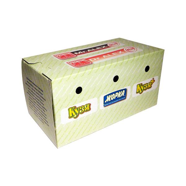 Переноска картон для мелких животных Жорка 10х10х20см