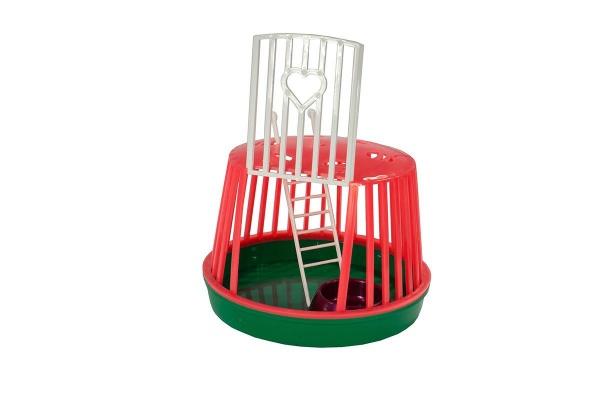 Переноска для грызунов пластиковая круглая (комплект) Даррэл