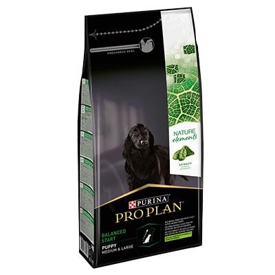 Сухой корм для щенков средних пород ПроПлан (ProPlan) Natural Element Ягненок 2 кг