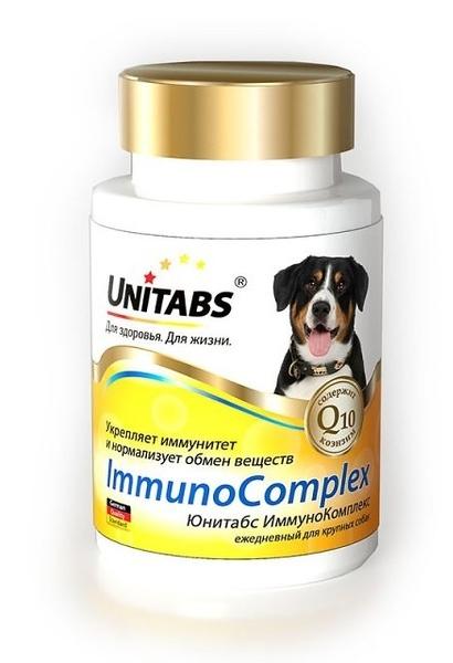 Ежедневные витамины для собак крупных пород Юнитабс (Unitads) Immuno Complex