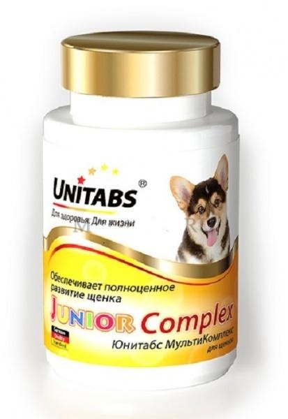 Ежедневные витамины для щенков Юнитабс (Unitabs) JuniorComplex с В9