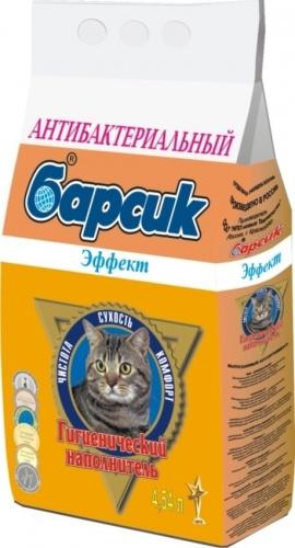 Наполнитель для кошачьего туалета БАРСИК Эффект впитывающий