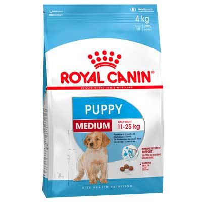 Сухой корм для щенков средних пород Royal Canin, Puppy Medium