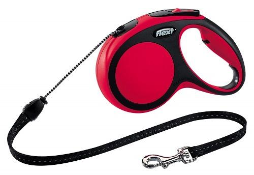 Рулетка трос для собак Flexi (Флекси) New Comfort красный