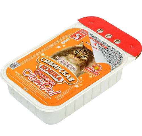 Одноразовый лоток Сибирская кошка бюджет