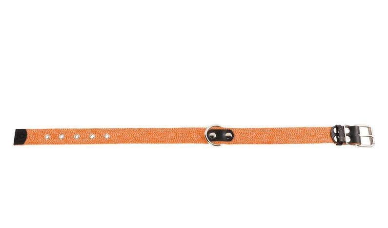 Ошейник х/б тесьма Коллар (CoLLaR) оранжевый