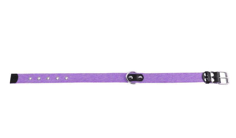 Ошейник х/б тесьма Коллар (CoLLaR) фиолетовый