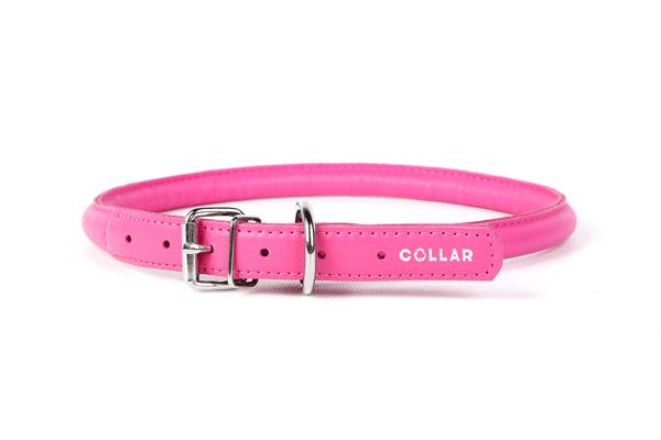 Ошейник Коллар (CoLLaR) GLAMOUR для длинношерстных собак розовый