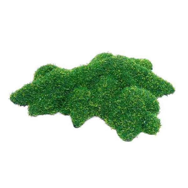 """Грот """"Зеленый мох"""" 220*130*25 мм (пластик)"""