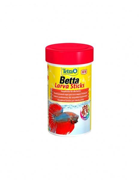 TETRA Betta Larva Sticks корм для бойцовых рыб, палочки