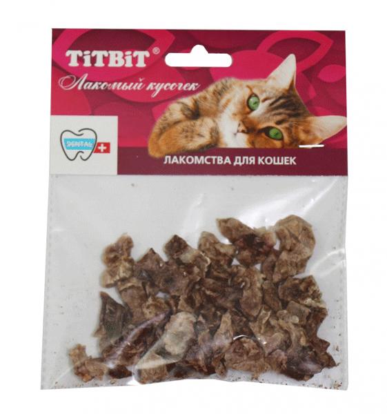 Лакомство для кошек Легкое баранье Титбит (Titbit)