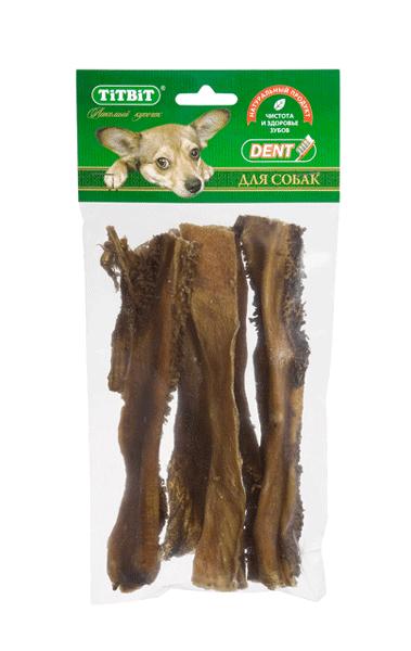 Лакомство для собак Рубец говяжий Титбит (Titbit)