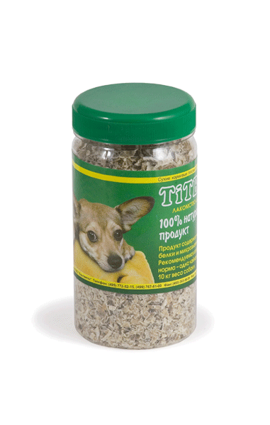 Лакомство для собак Рубец говяжий молотый Титбит (Titbit)