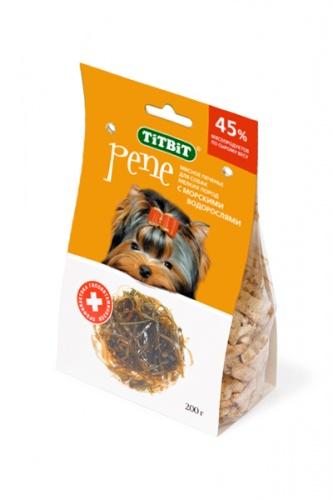 Лакомство для собак Печенье PENE с морскими водорослями Титбит (Titbit)