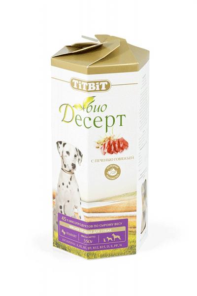 Лакомство для собак Печенье с печенью Титбит (Titbit)