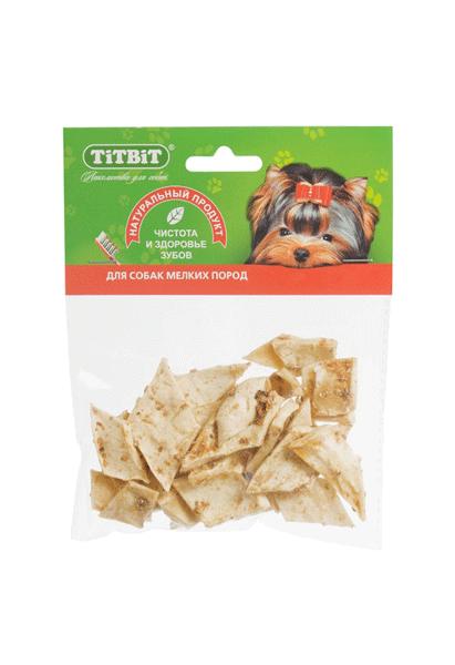 Лакомство для собак Медальоны из кожи Титбит (Titbit)