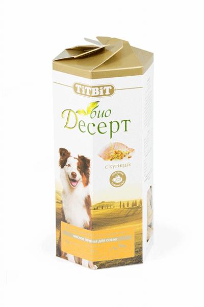 Лакомство для собак Печенье с курицей Титбит (Titbit) стандарт