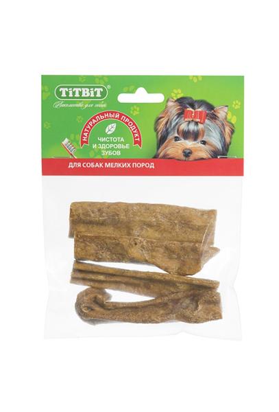Лакомство для собак Вымя говяжье Титбит (Titbit)