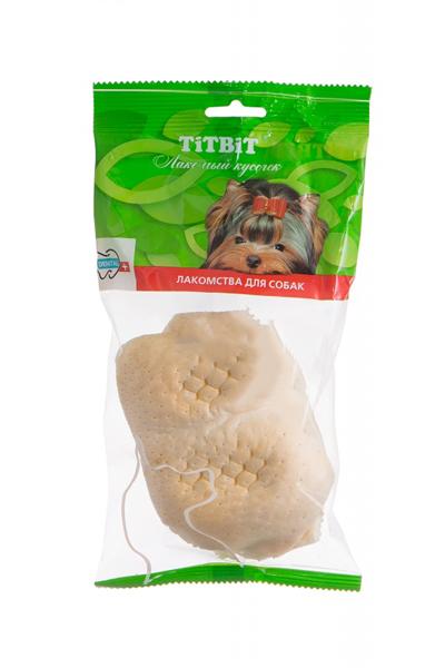 Лакомство для собак Губы телячьи Титбит (Titbit)