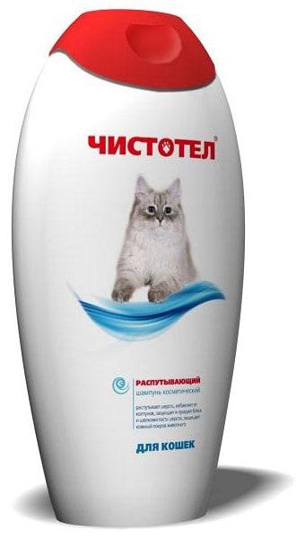 Шампунь для кошек распутывающий Чистотел