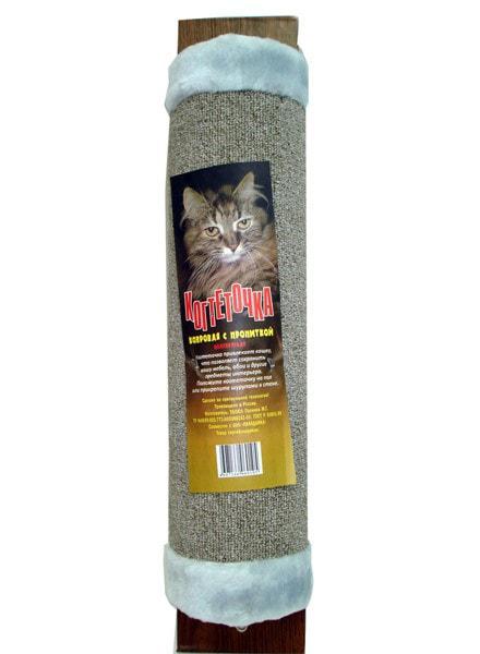 Когтеточка ковровая полукруглая с пропиткой Паладинка