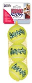 """Игрушка для собак """"Теннисный мяч"""" KONG Air маленький без пищалки"""