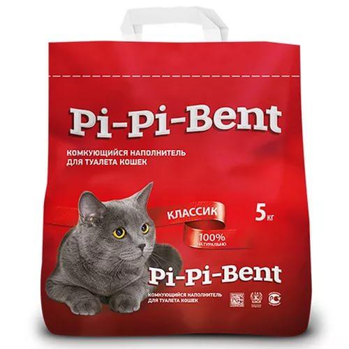 Наполнитель для кошачьего туалета Пи-Пи-Бент (Pi-Pi-Bent) комкующийся