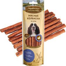 Лакомство для собак Мясные колбаски Деревенские лакомства Утка