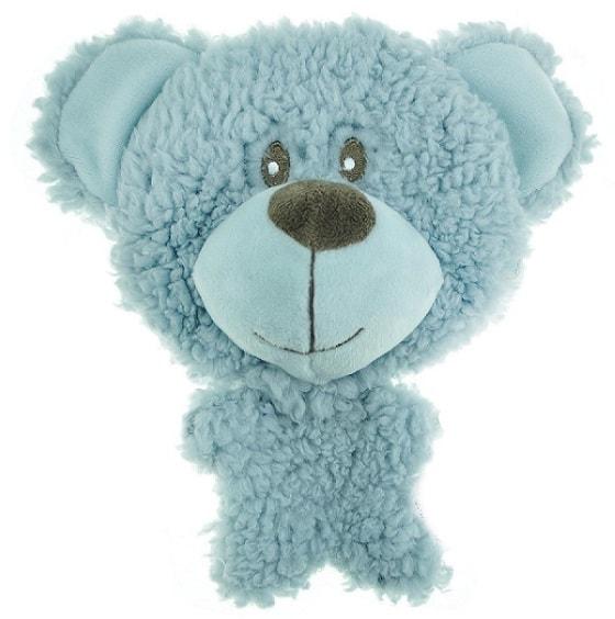 Игрушка для собак BIG HEAD AROMADOG Мишка голубой