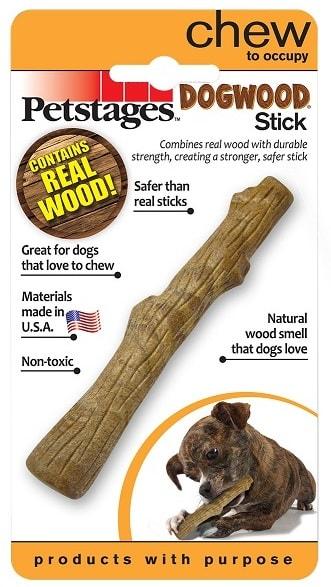 Игрушка для собак Deerhorn PETSTAGES палочка деревянная