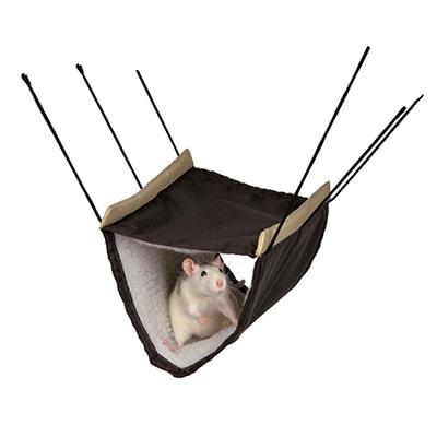 Гамак двухъярусный для хорьков и крыс TRIXIE (Трикси), 22x15x30см